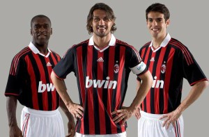 bwin - one of Milan's recent shirt sponsors