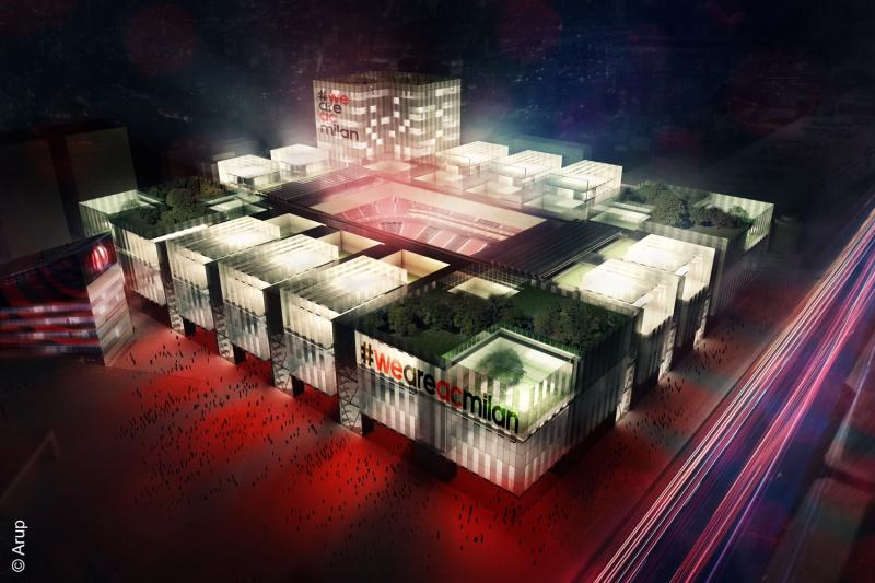 The new AC Milan stadium