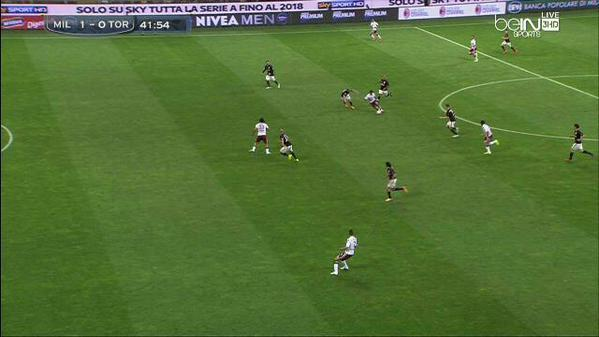 Torino players Offside In the Leadup to Zaccardo's Red