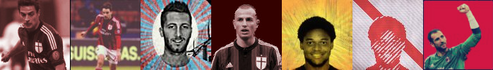 Milan Player Avatars