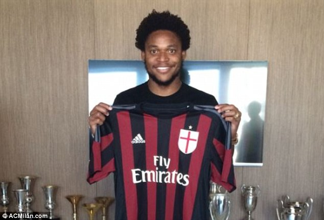 Luiz Adriano arrived from Shakhtar Donetsk last week