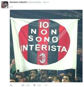 Albertini's Twitter
